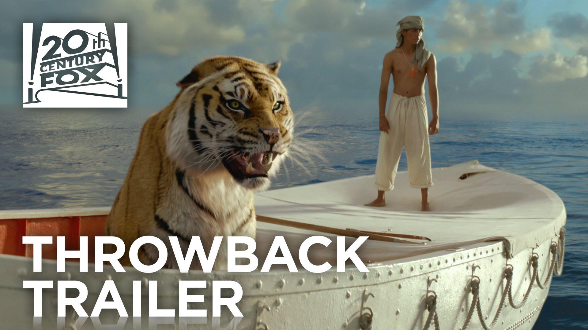 Life of Pi | #TBT Trailer | 20th Century FOX