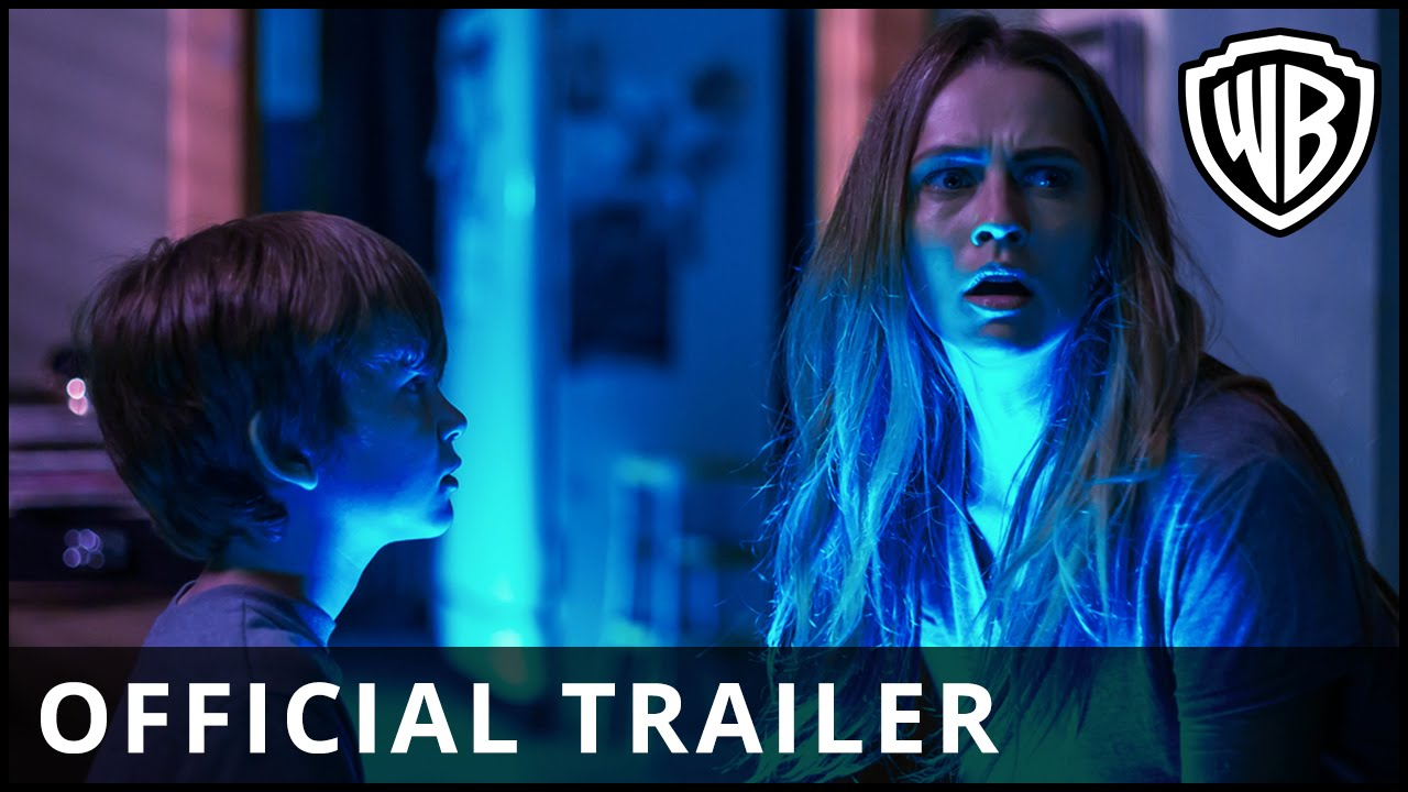 Lights Out – Official Trailer 2 – Official Warner Bros. UK