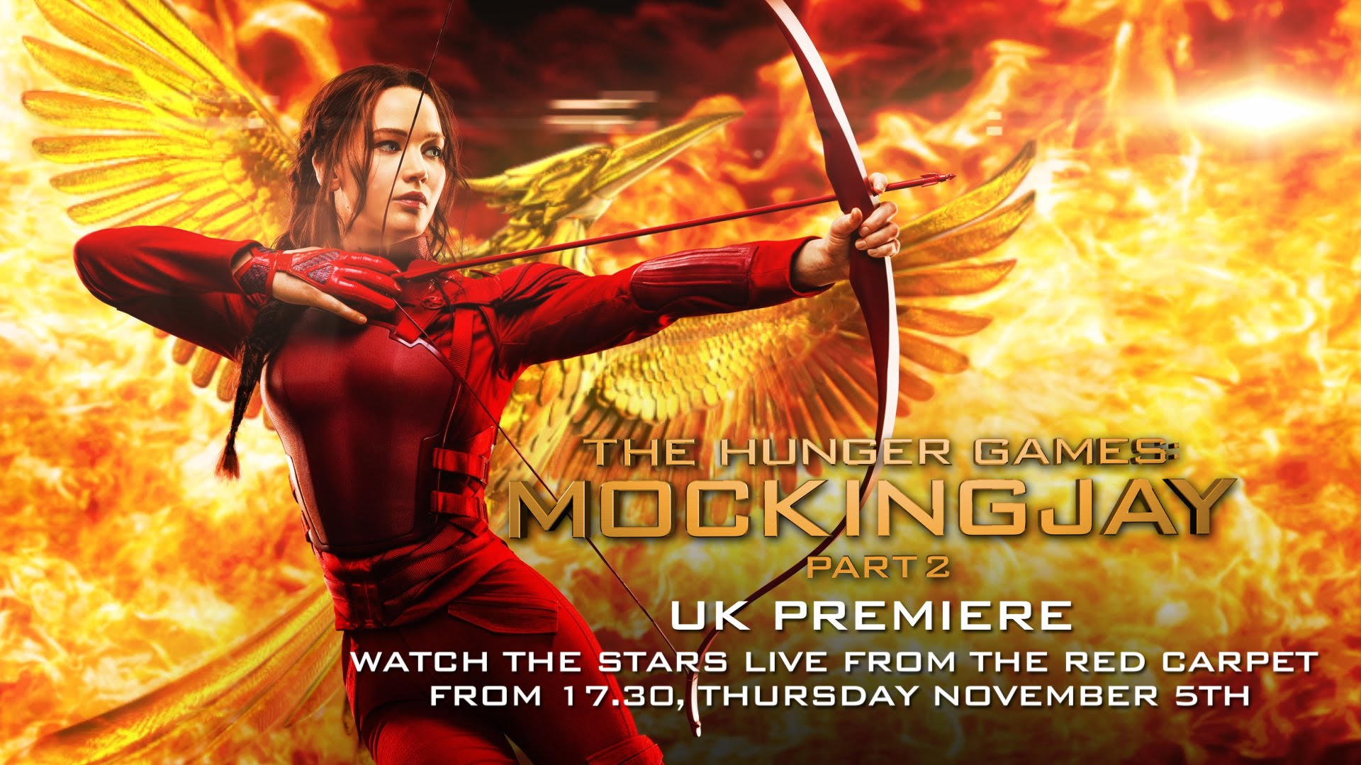 LIVE: The Hunger Games: Mockingjay – Part 2 UK Premiere