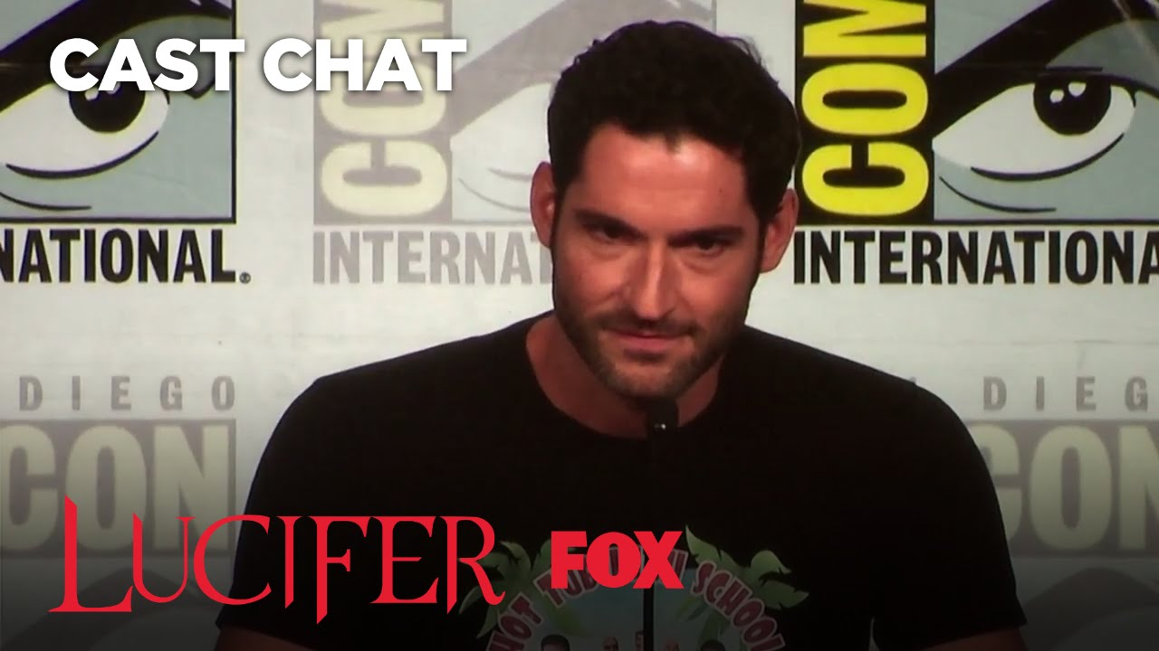 LUCIFER Panel At Comic-Con 2017