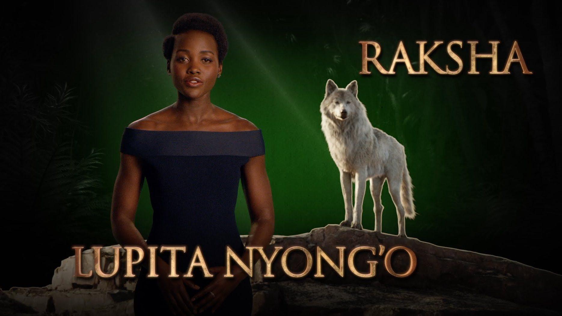 Lupita Nyong'o is Raksha – Disney's The Jungle Book