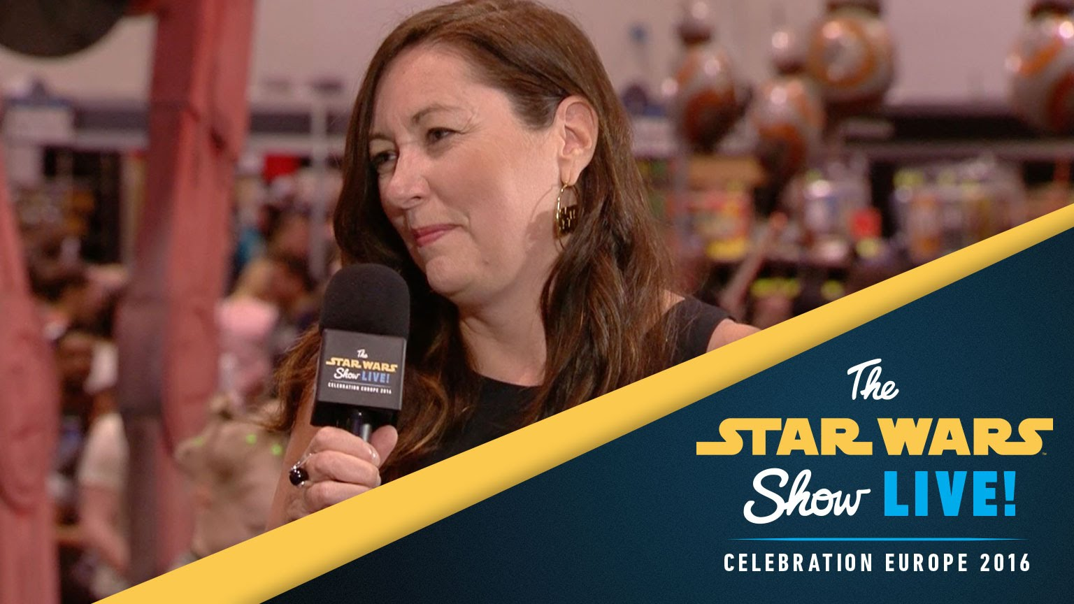 Lynwen Brennan Interview | Star Wars Celebration Europe 2016
