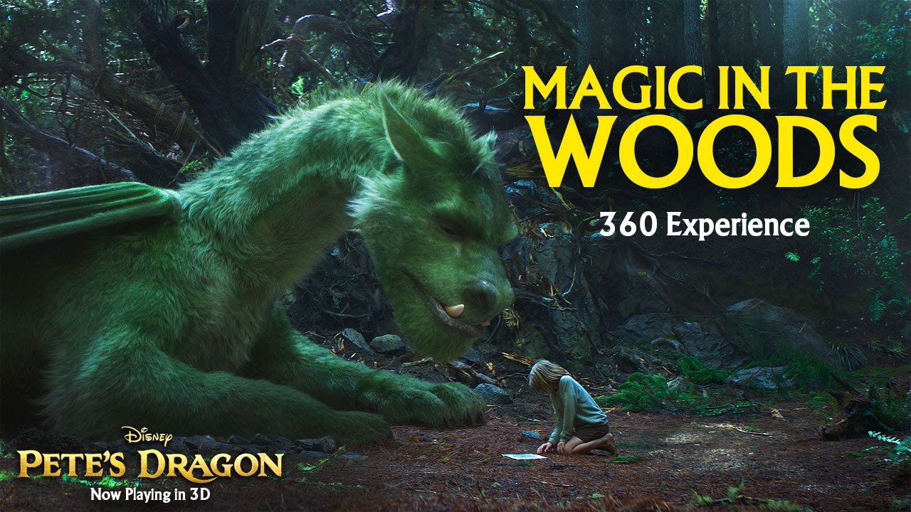Magic in the Woods 360 Video Experience – Pete's Dragon