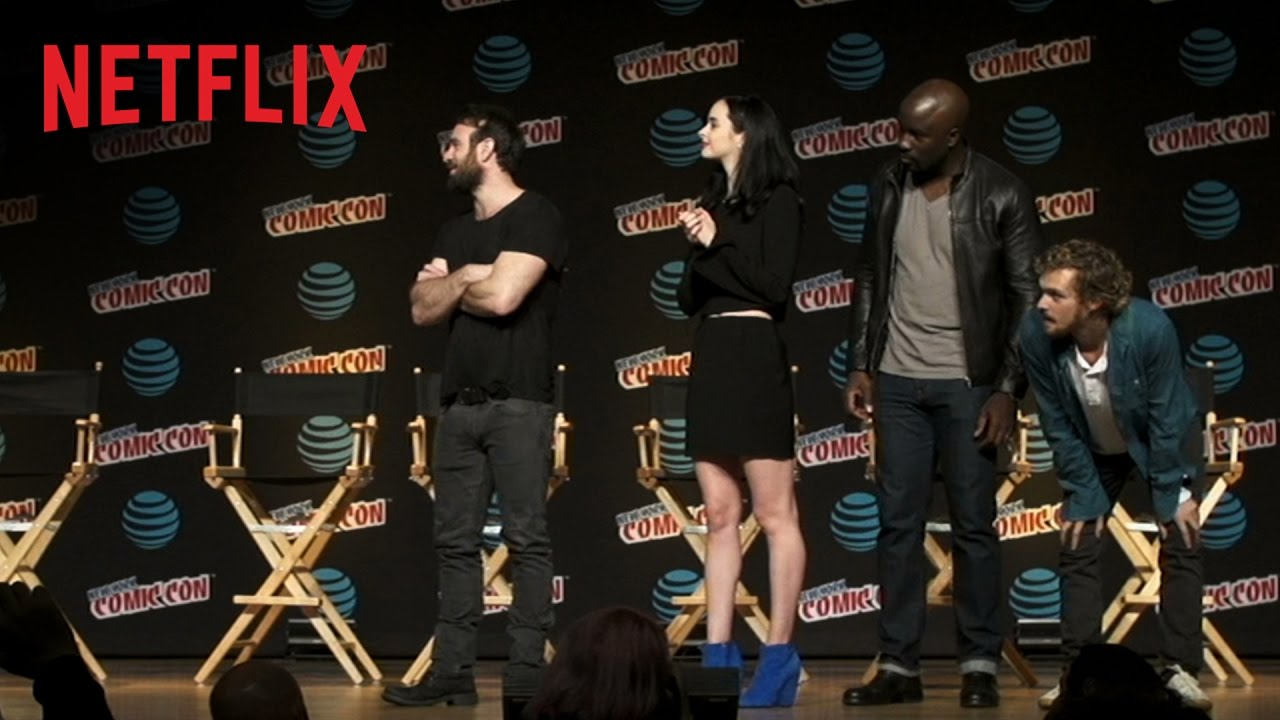 Marvel's The Defenders – NYCC Surprise