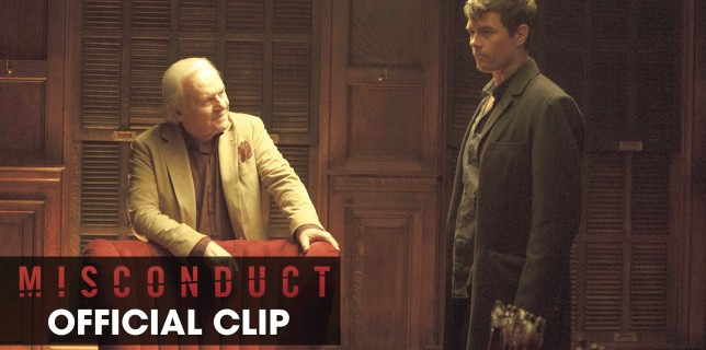 "Misconduct (2016 Movie – Josh Duhamel, Al Pacino) Official Clip – ""I Never Wanted Any of This"""