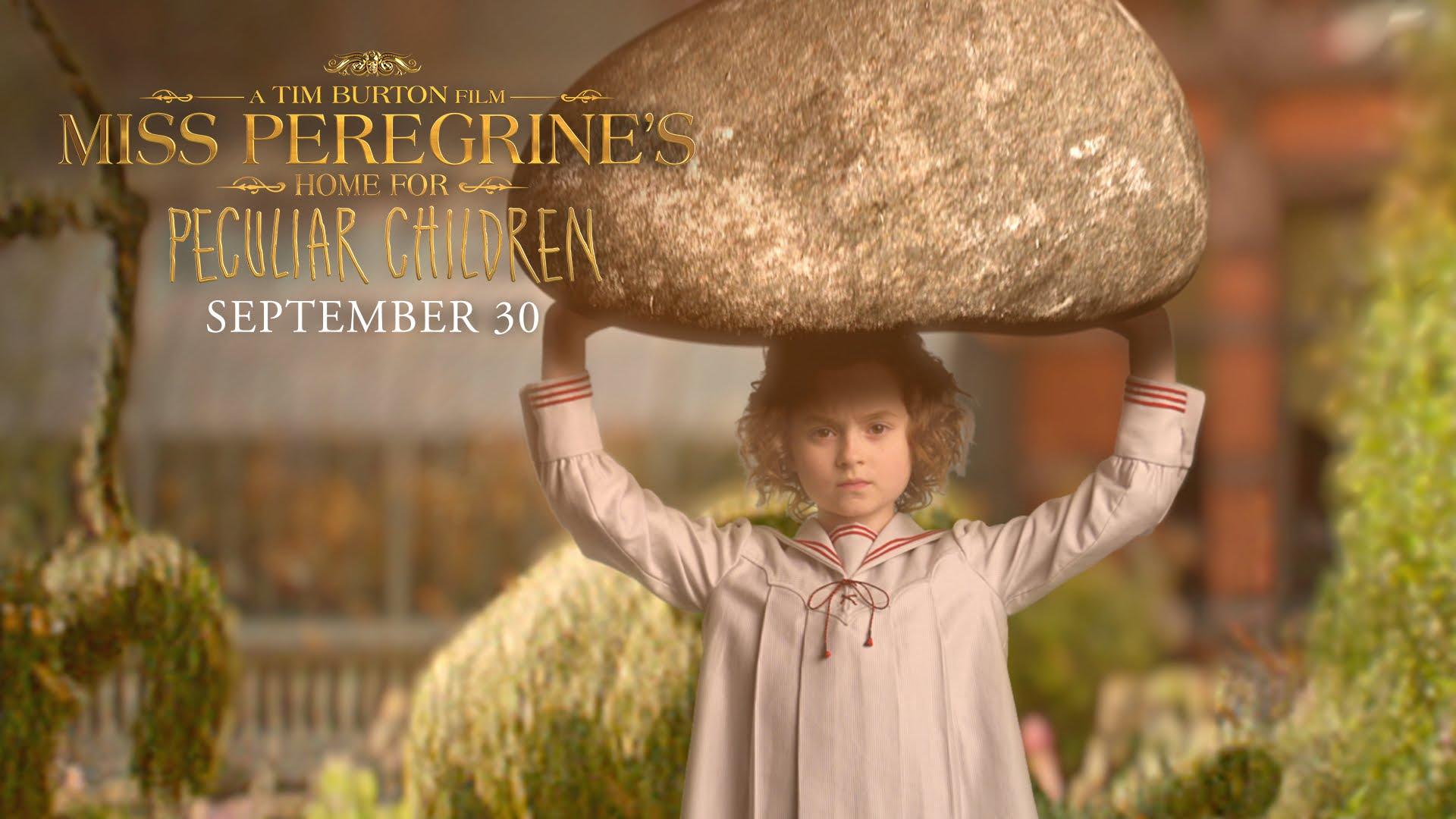 Miss Peregrine's Home for Peculiar Children | Trailer Announcement | 20th Century FOX