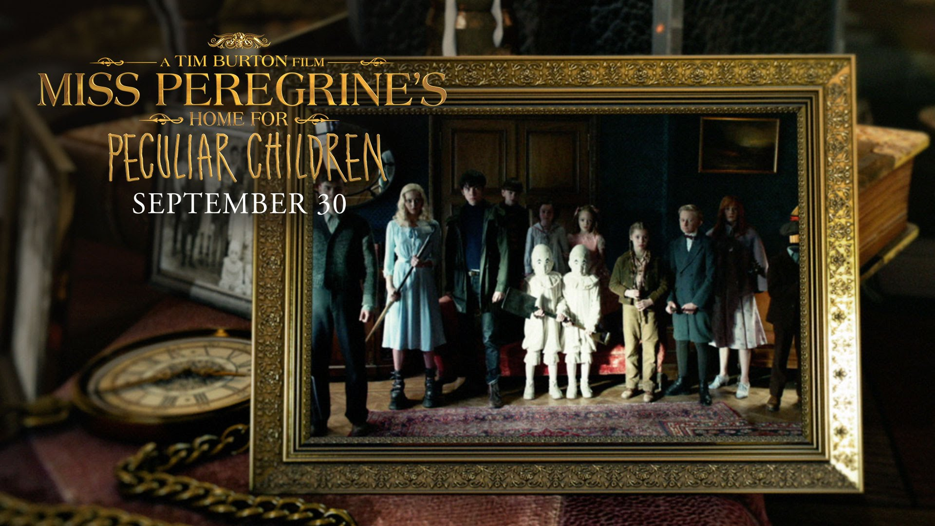 """Miss Peregrine's Home For Peculiar Children   """"Wish That You Were Here"""" Music Video"""