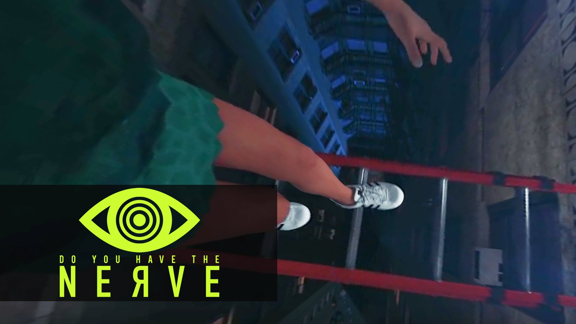 Nerve (2016) 360 Video – VR Dare: Climb Across The Ladder (Vee)