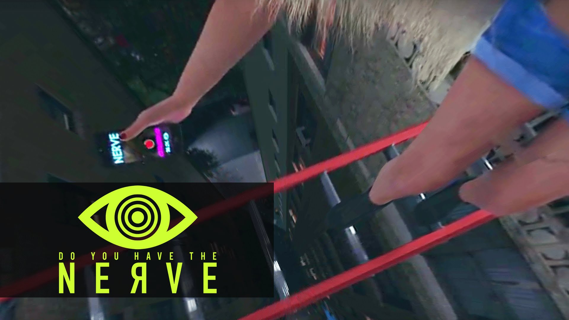 Nerve (2016) 360 Video – VR Dare: Climb Across The Ladder (Syd)