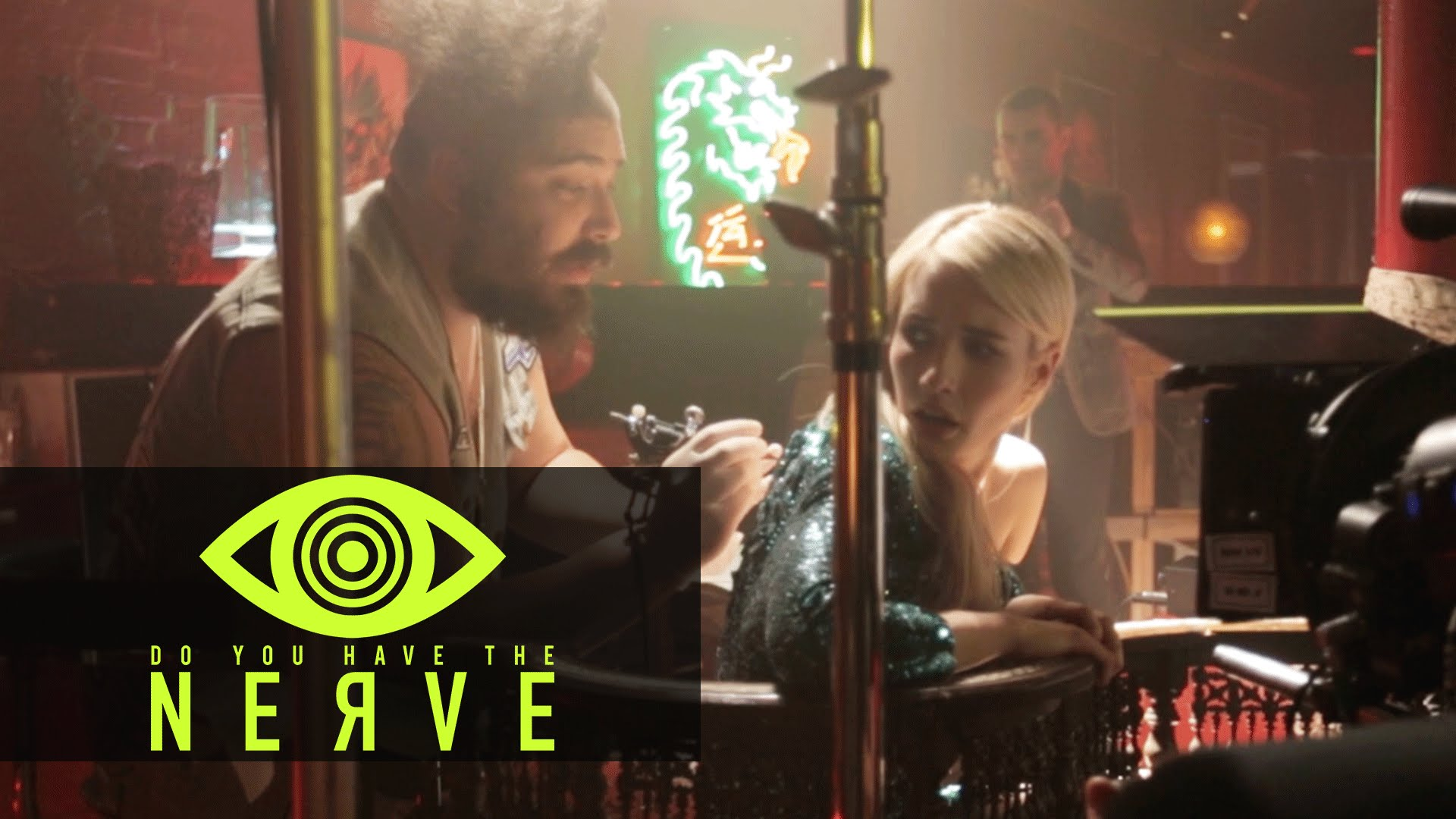 Nerve (2016 Movie) – The Fat Jew 'Tattoo' Behind The Scenes