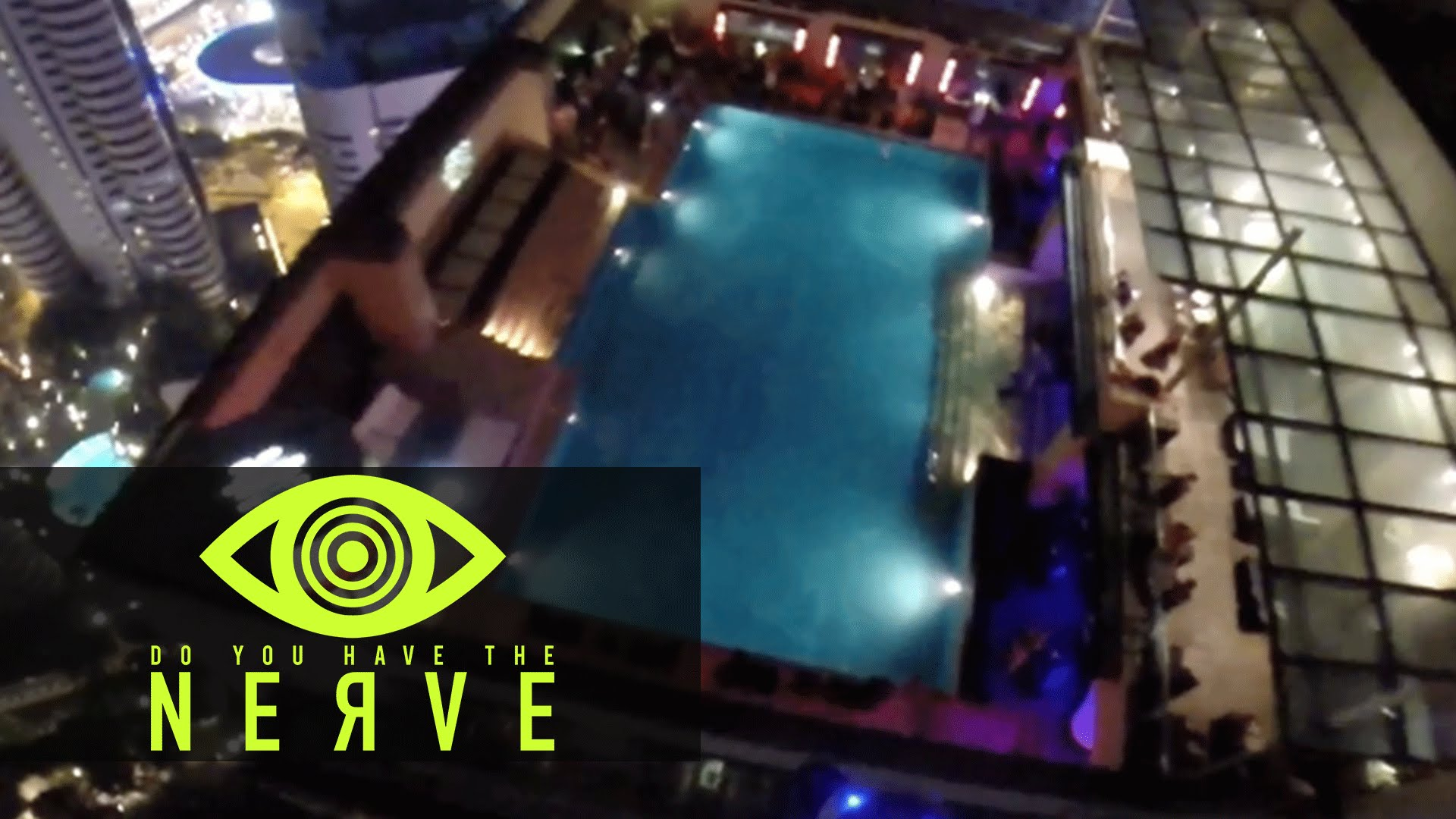 "Nerve Dare – ""Base Jump Into A Pool"""