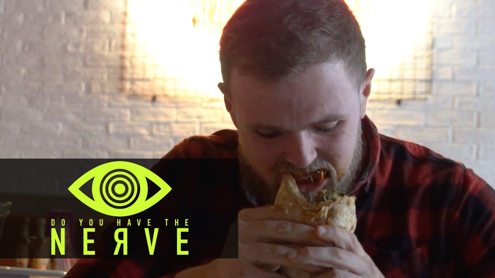 "Nerve Dare – ""Burrito Challenge"""