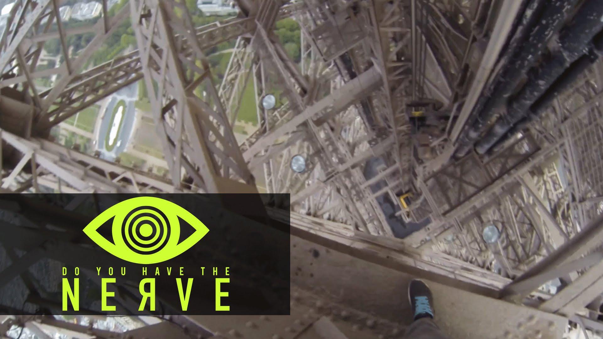 "Nerve Dare – ""Eifel Tower Climb"""