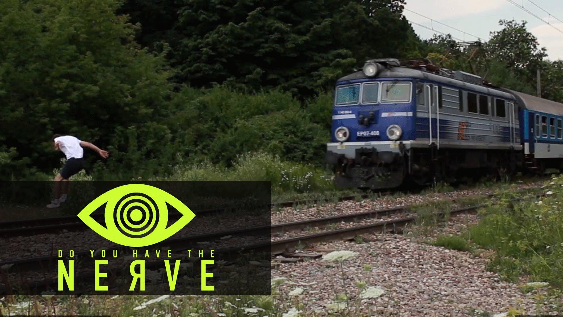 """Nerve Dare – """"Out Run A Train"""""""
