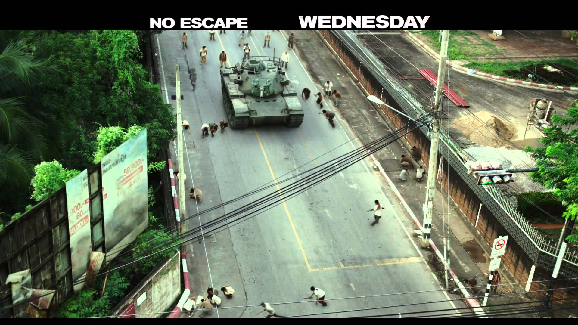 NO ESCAPE – Water For Blood – The Weinstein Company