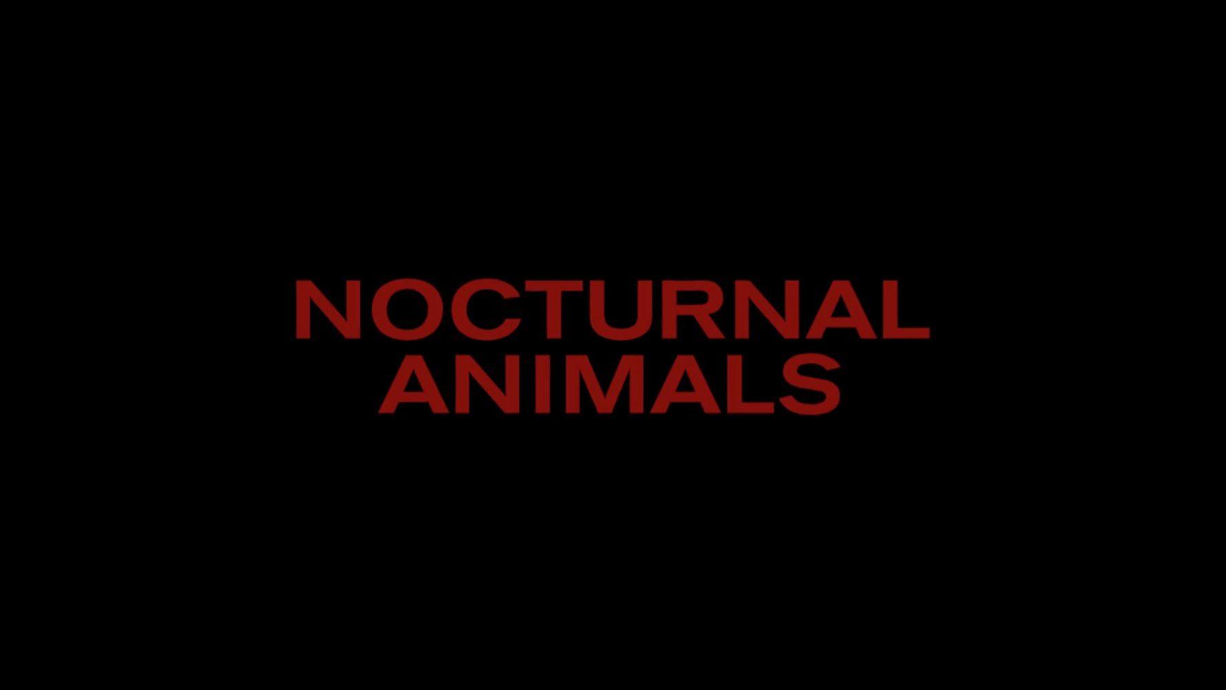 NOCTURNAL ANIMALS – Sneak Peek of Official Teaser Trailer