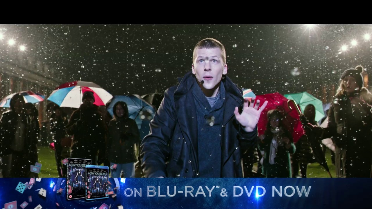 NOW YOU SEE ME 2 – ON BLU-RAY & DVD 7th NOVEMBER