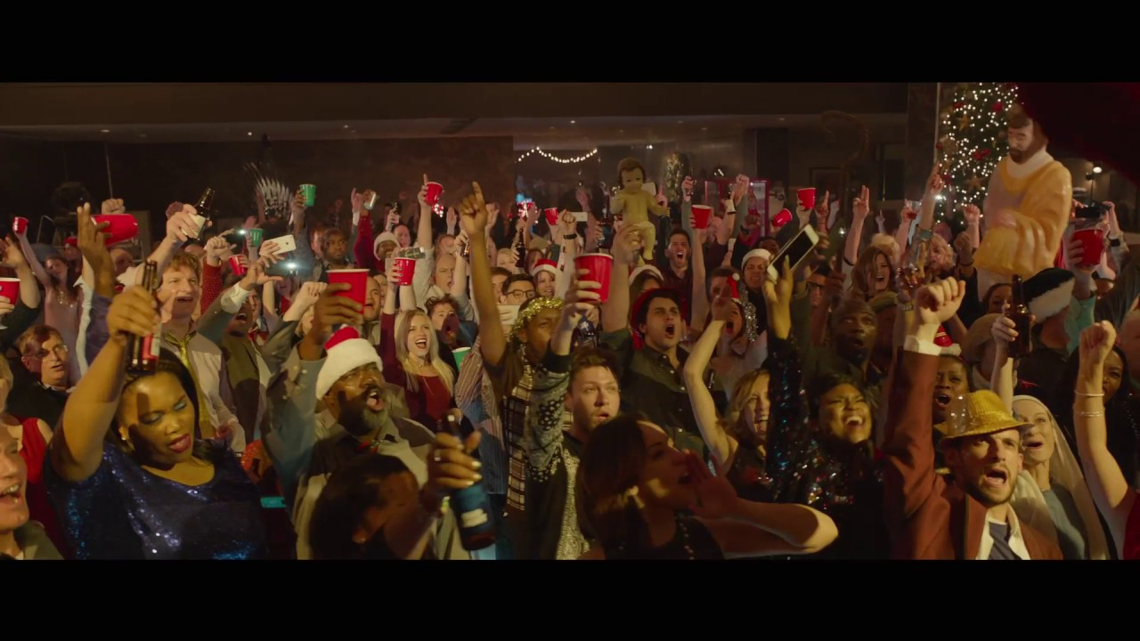 OFFICE CHRISTMAS PARTY – 'PARTY EVEN HARDER' 30″ TV SPOT
