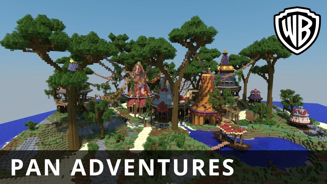 Pan – Pan Adventures in Minecraft – Official Warner Bros. UK