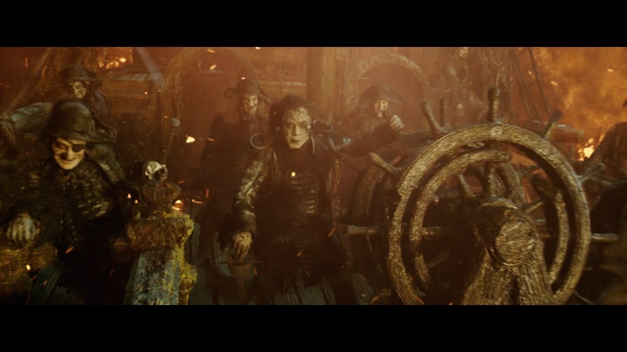 Pirates of the Caribbean: Dead Men Tell No Tales – Pirate's Death
