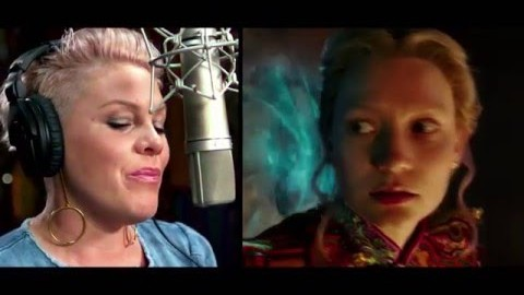 P!nk Featurette – Alice Through the Looking Glass in Theaters May 27!