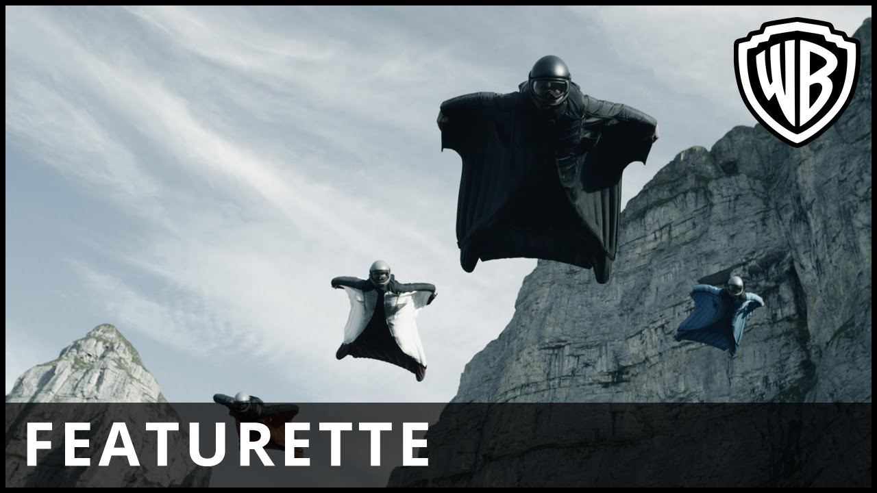 Point Break – Wingsuit Featurette – Official Warner Bros. UK