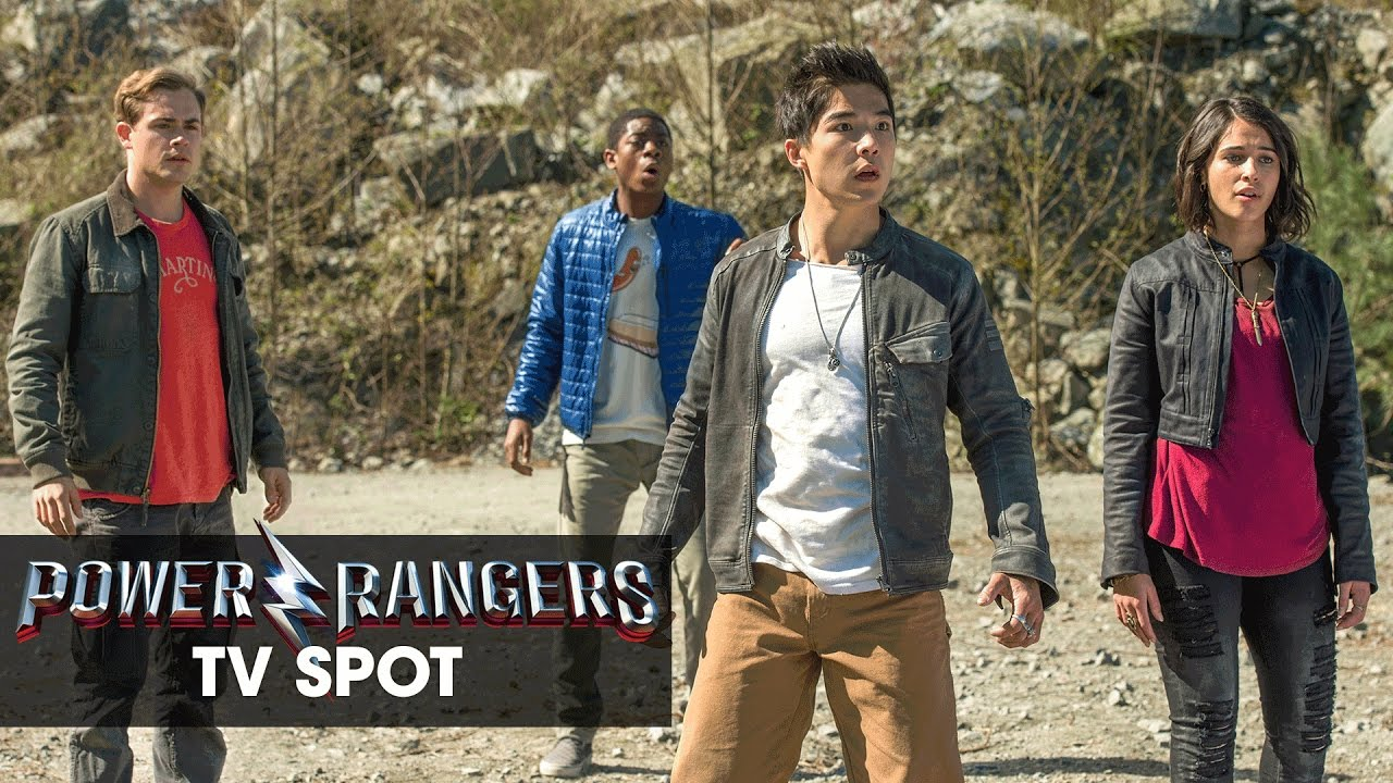 """Power Rangers (2017 Movie) Official TV Spot – """"They're Back"""""""