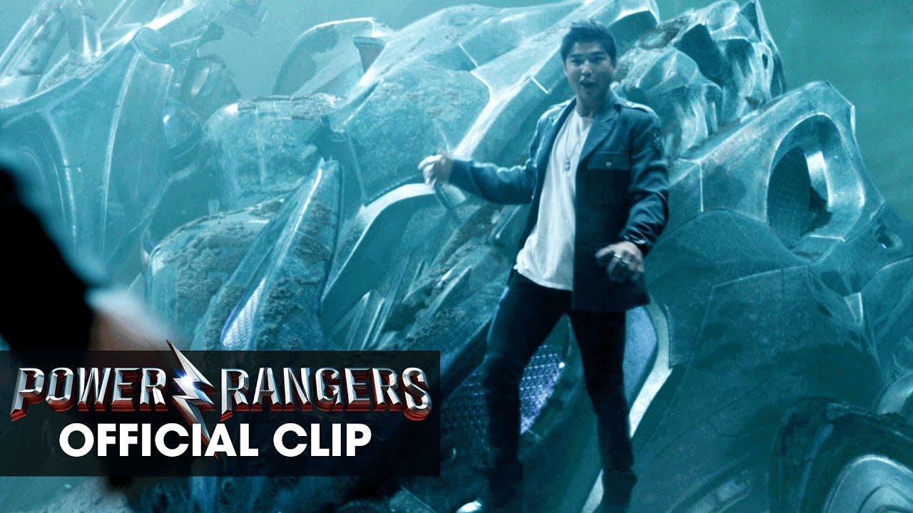 Power Rangers (2017 Movie) Official Clip – 'Zack Crash'