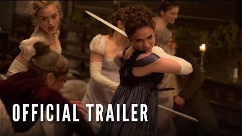 Pride And Prejudice And Zombies – Official Trailer #1 (Feb 2016)
