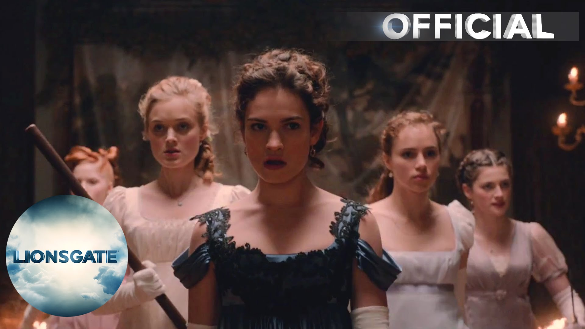 Pride And Prejudice And Zombies – OFFICIAL UK TRAILER – In Cinemas 2016