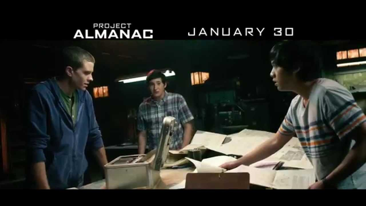 Project Almanac Movie – Rules Grid