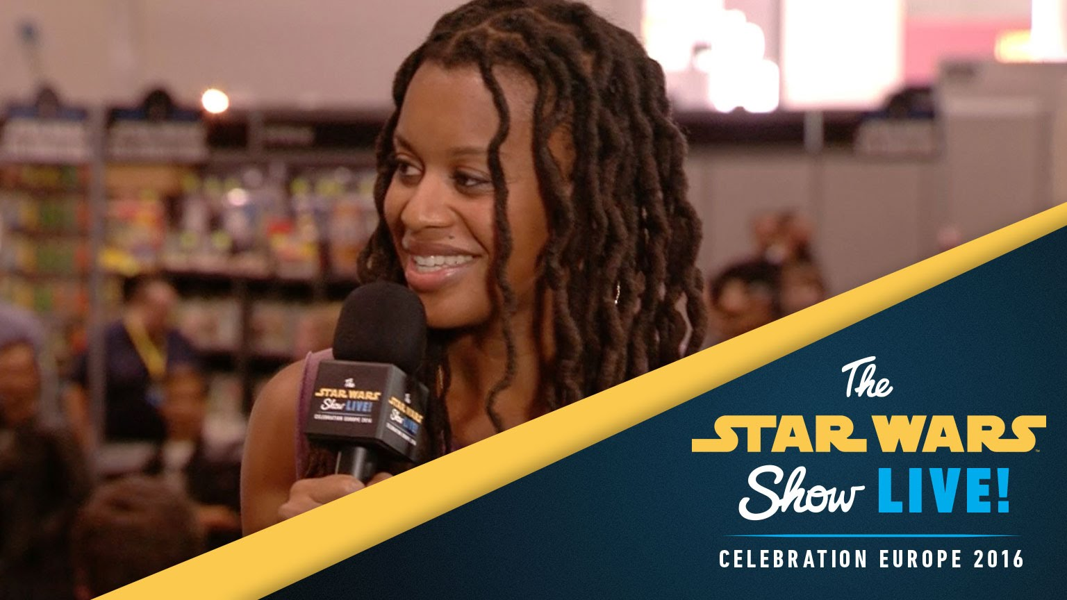 Rayne Roberts Interview | Star Wars Celebration Europe 2016