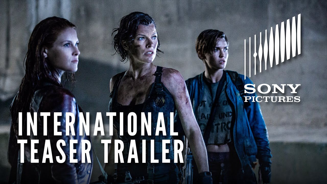 RESIDENT EVIL: THE FINAL CHAPTER – International Teaser Trailer