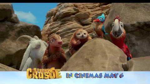 ROBINSON CRUSOE – SWING INTO ACTION – IN CINEMAS MAY 6TH