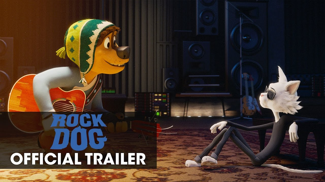 "Rock Dog (2017 Movie) Official Trailer  – ""Follow Your Dream"""
