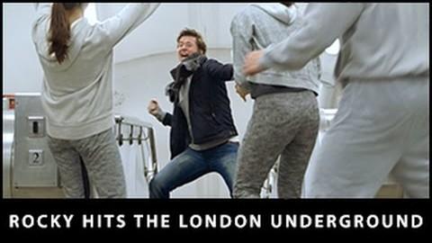 Rocky hits London Underground  – CREED in UK cinemas January 15