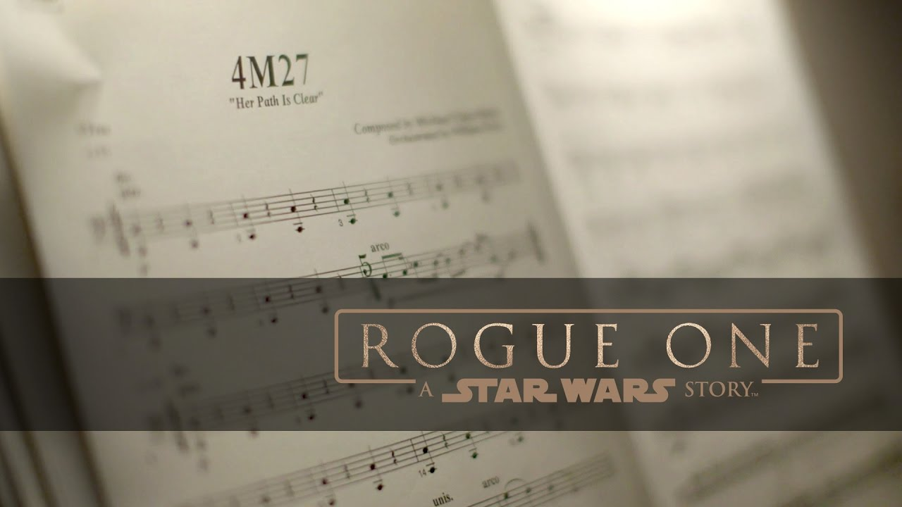 """Rogue One: A Star Wars Story """"Scoring Highlights"""""""