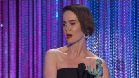 Sarah Paulson Acceptance Speech | 23rd SAG Awards
