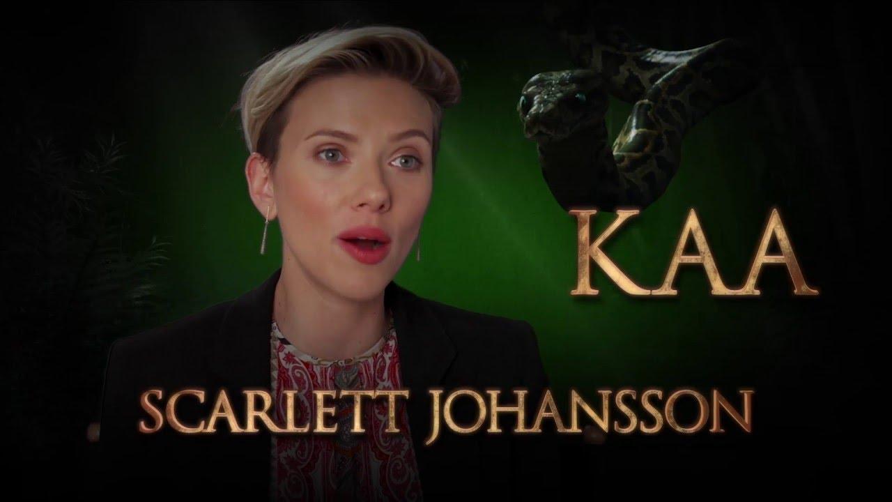 Scarlett Johansson is Kaa – Disney's The Jungle Book