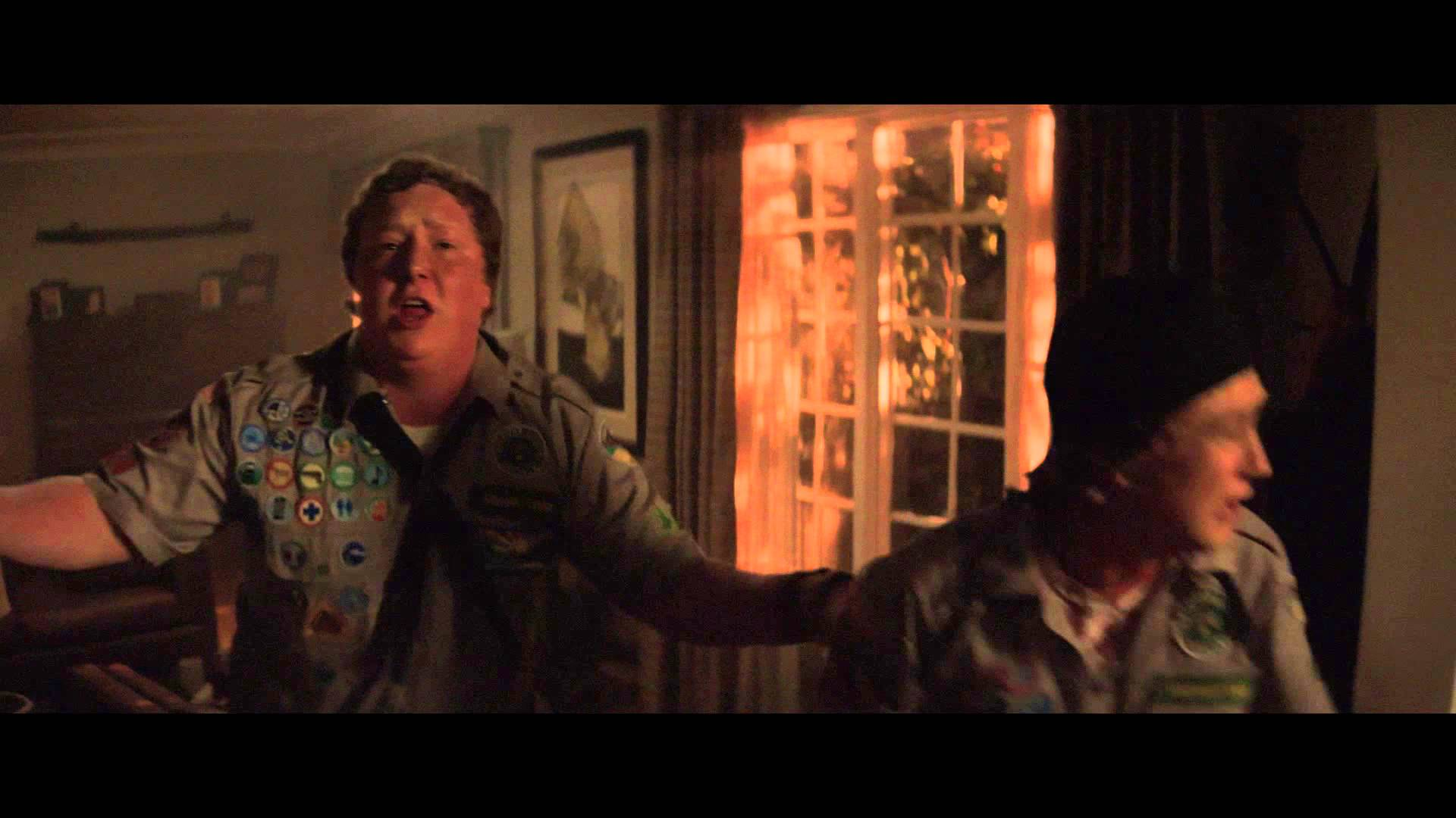 "Scouts Guide to the Zombie Apocalypse | Clip: ""She's Gumming My Ass"" 