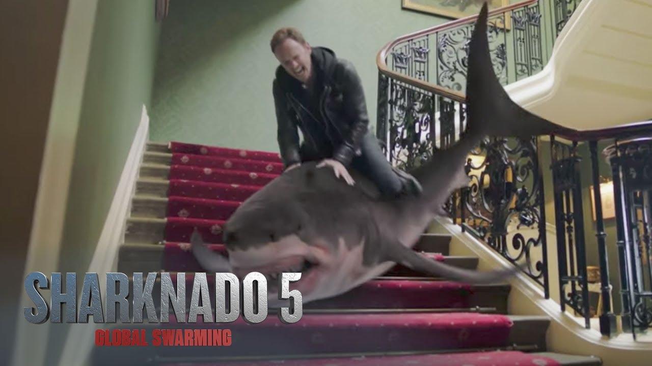 SHARKNADO 5: Global Swarming – Official Trailer