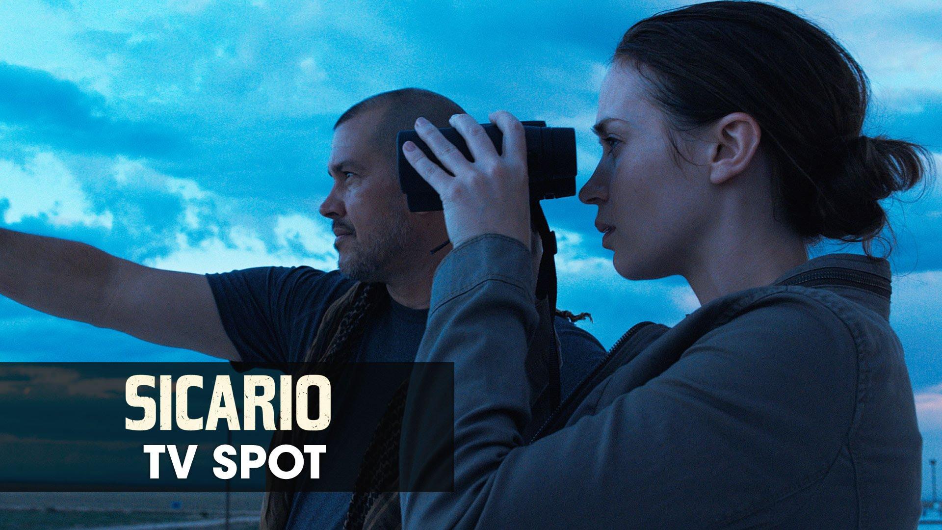 "Sicario (2015 Movie – Emily Blunt) Official TV Spot – ""Thriller"""