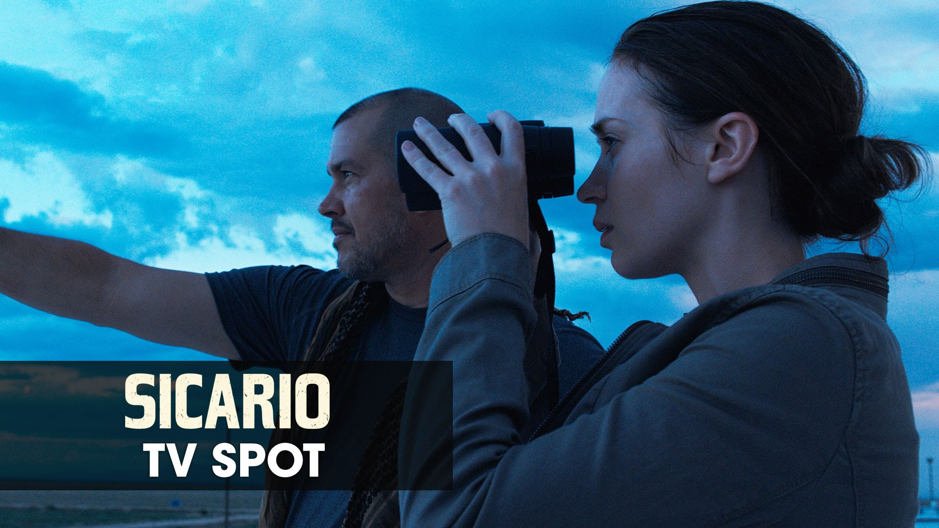 "Sicario (2015 Movie – Emily Blunt) Official TV Spot – ""Thriller"""