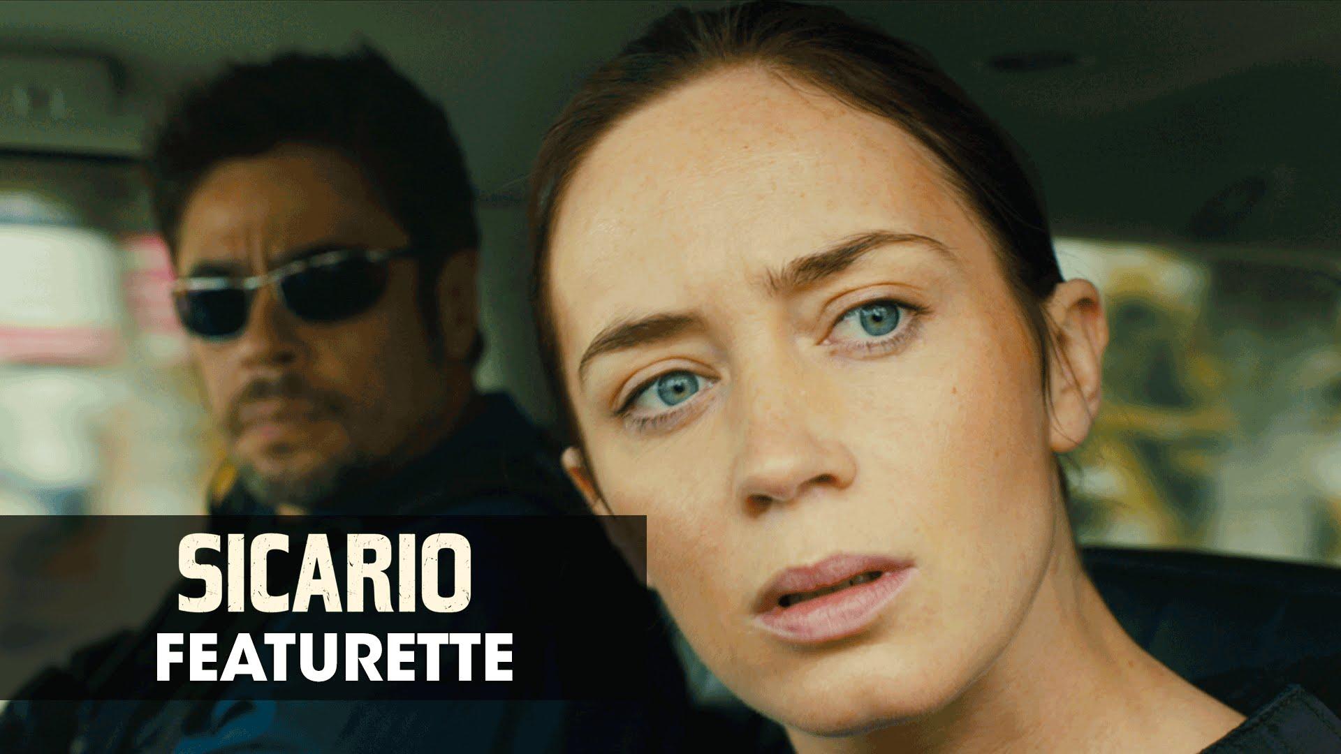 """Sicario (2015 Movie – Emily Blunt) Official Featurette – """"Border Battle"""""""