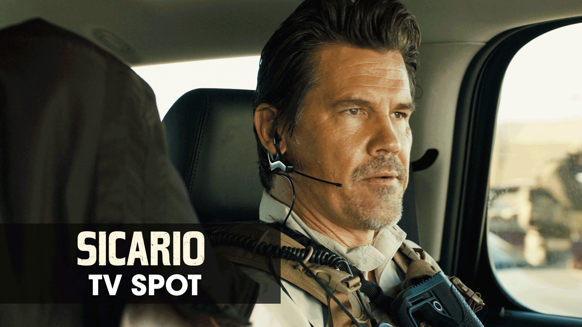 "Sicario (2015 Movie – Emily Blunt) Official TV Spot – ""No Boundaries"""