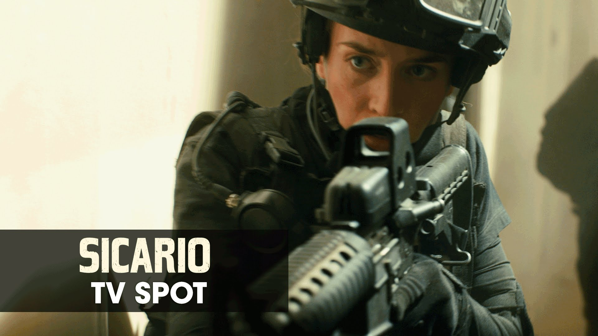 "Sicario (2015 Movie – Emily Blunt) Official TV Spot – ""Land of Wars"""