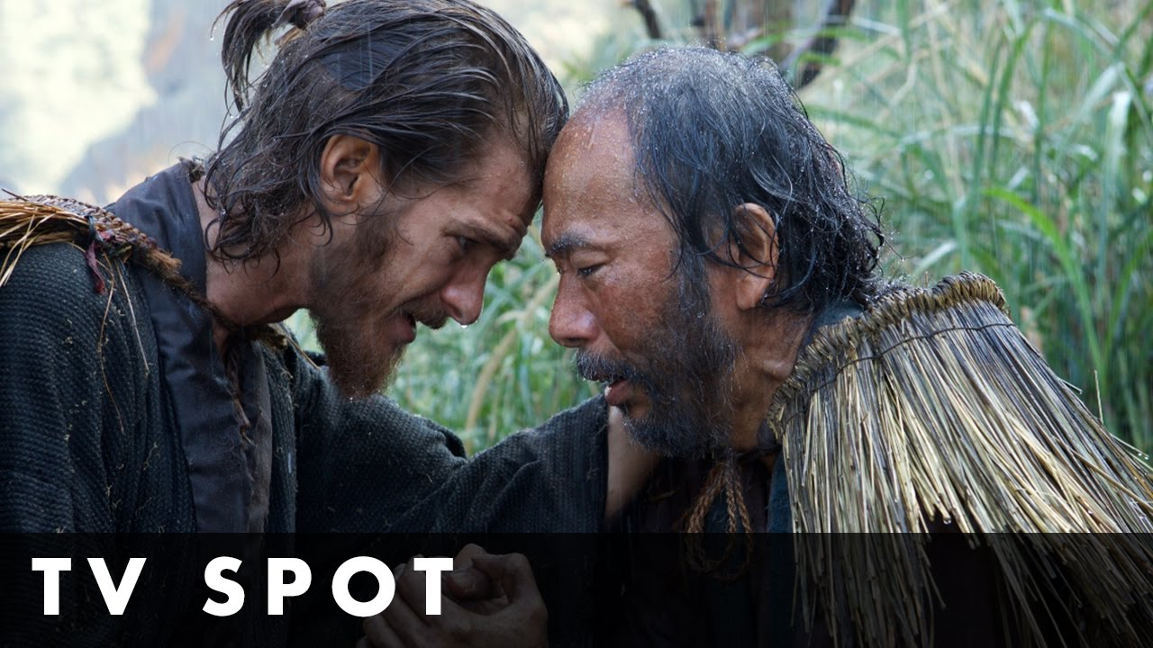 SILENCE – Official TV Spot – In cinemas New Year's Day