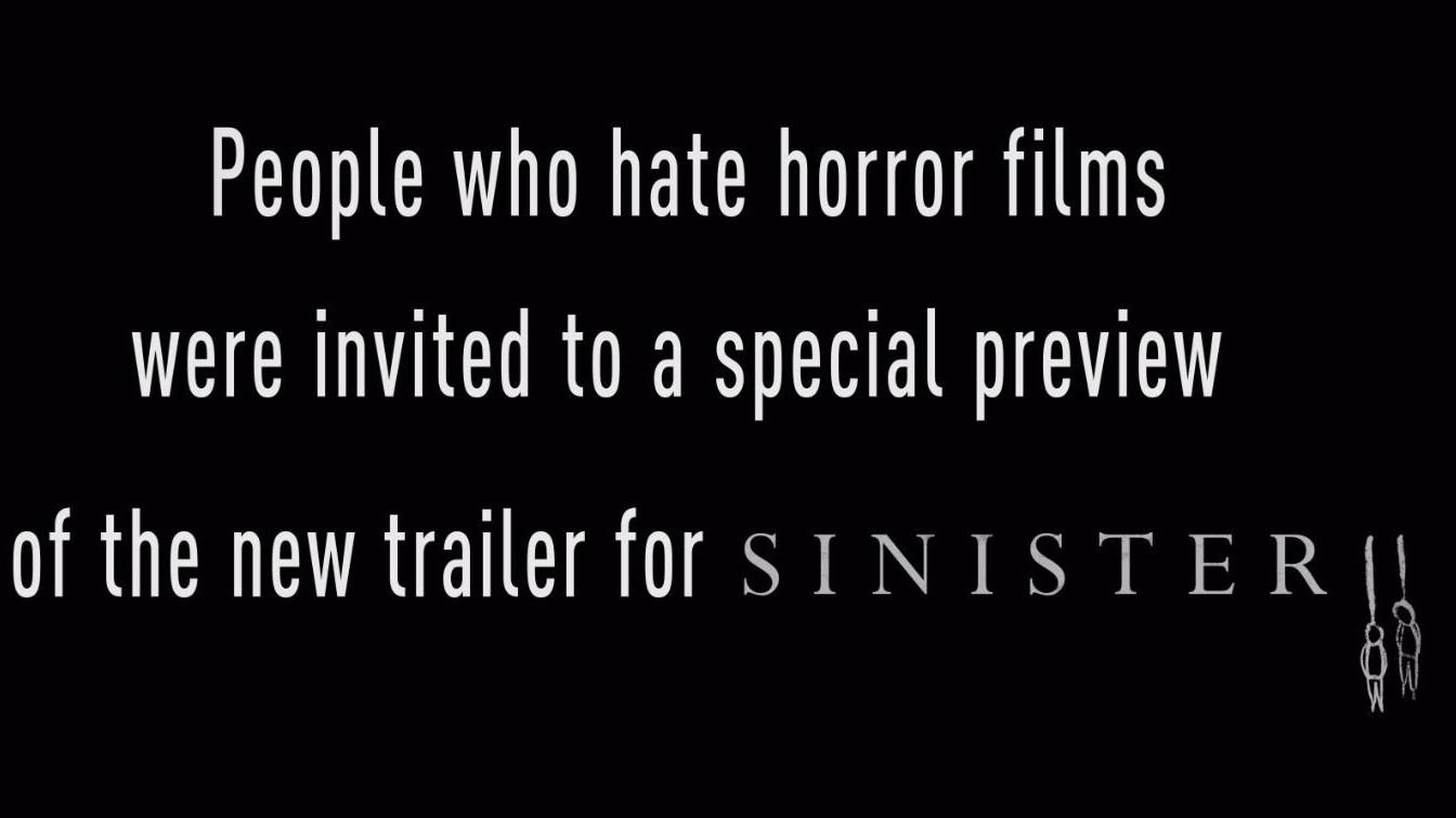 SINISTER 2 – TRAILER REACTION VIDEO
