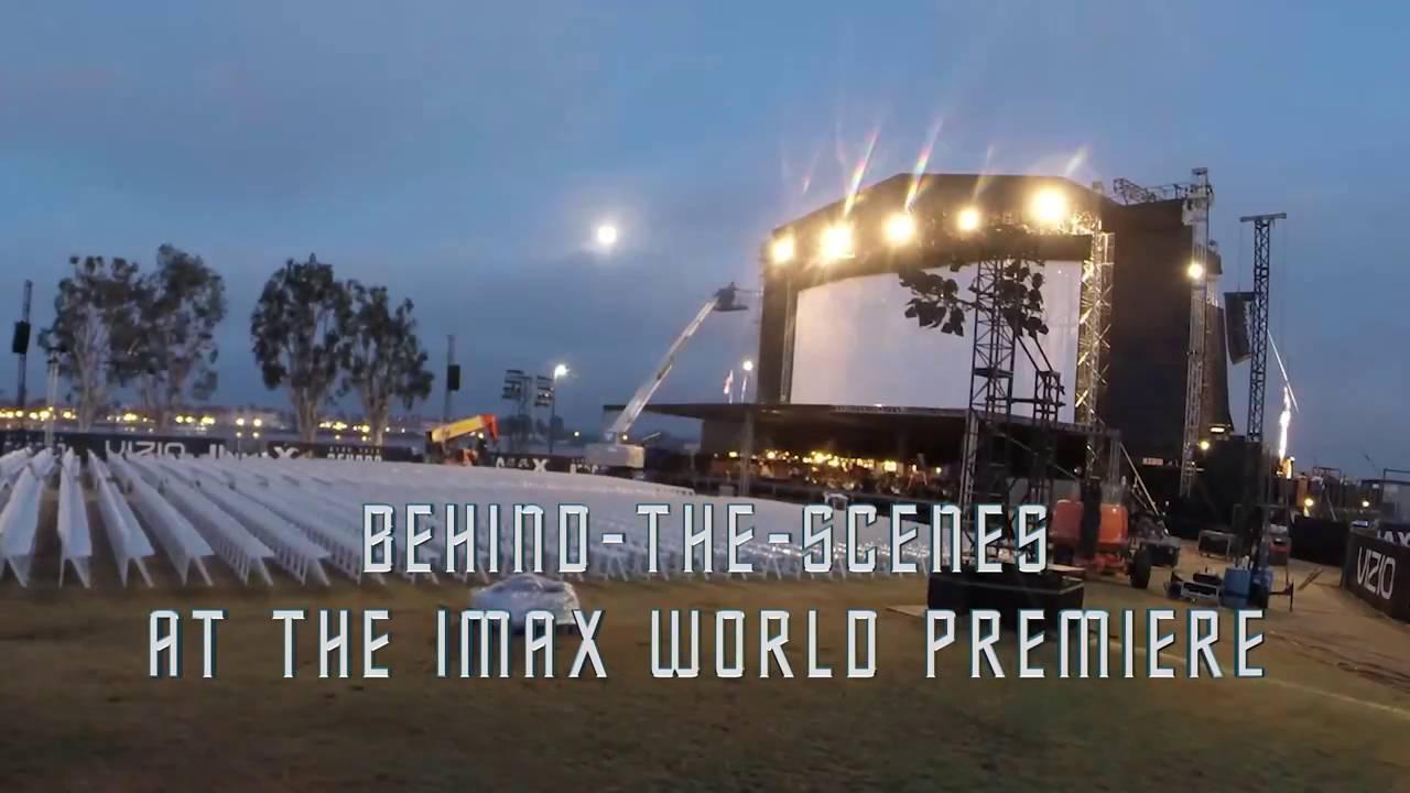 Star Trek Beyond IMAX World Premier Time Lapse