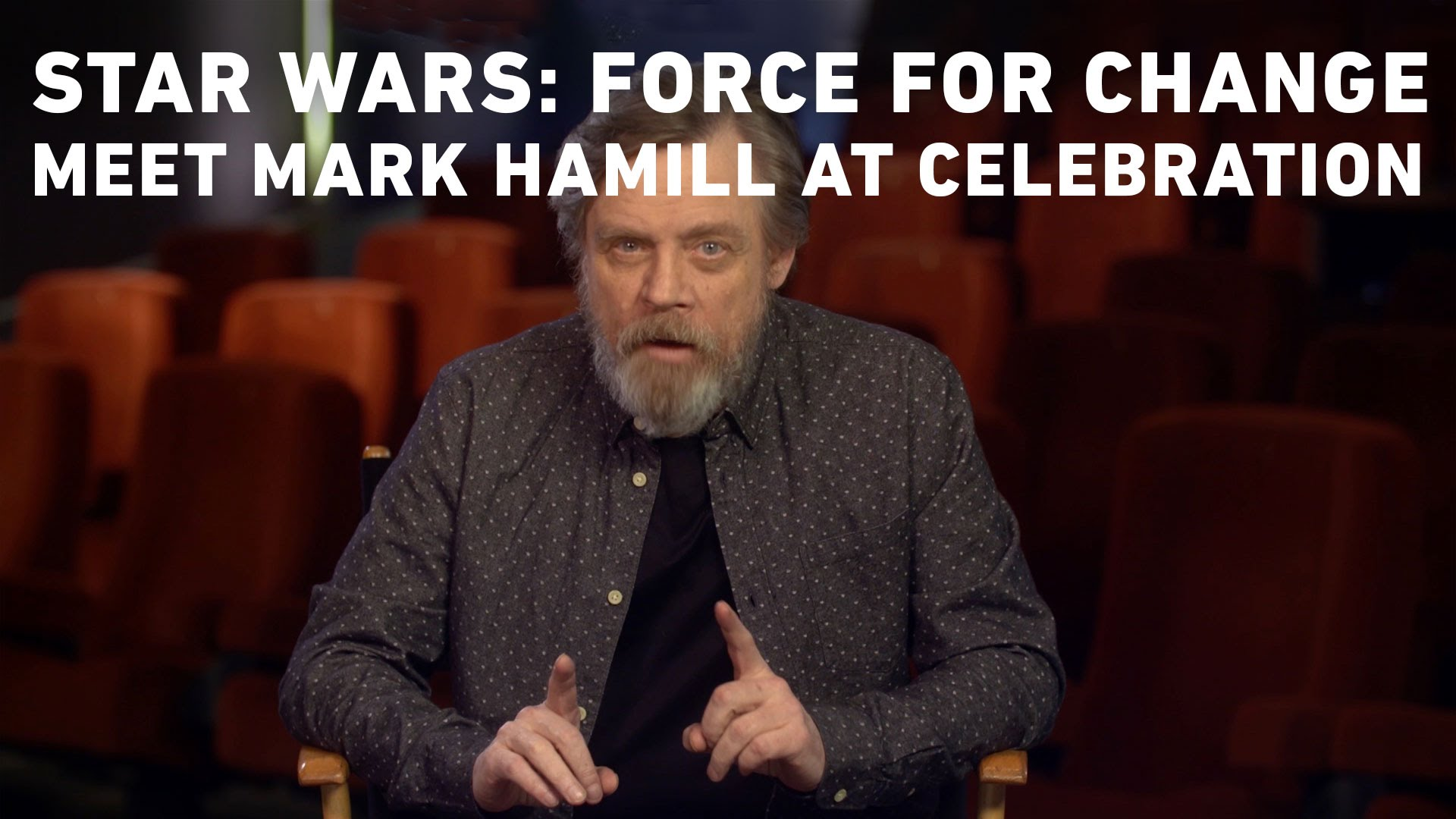 Star Wars: Force for Change – Your Chance To Win Tickets to Celebration and Meet Mark Hamill